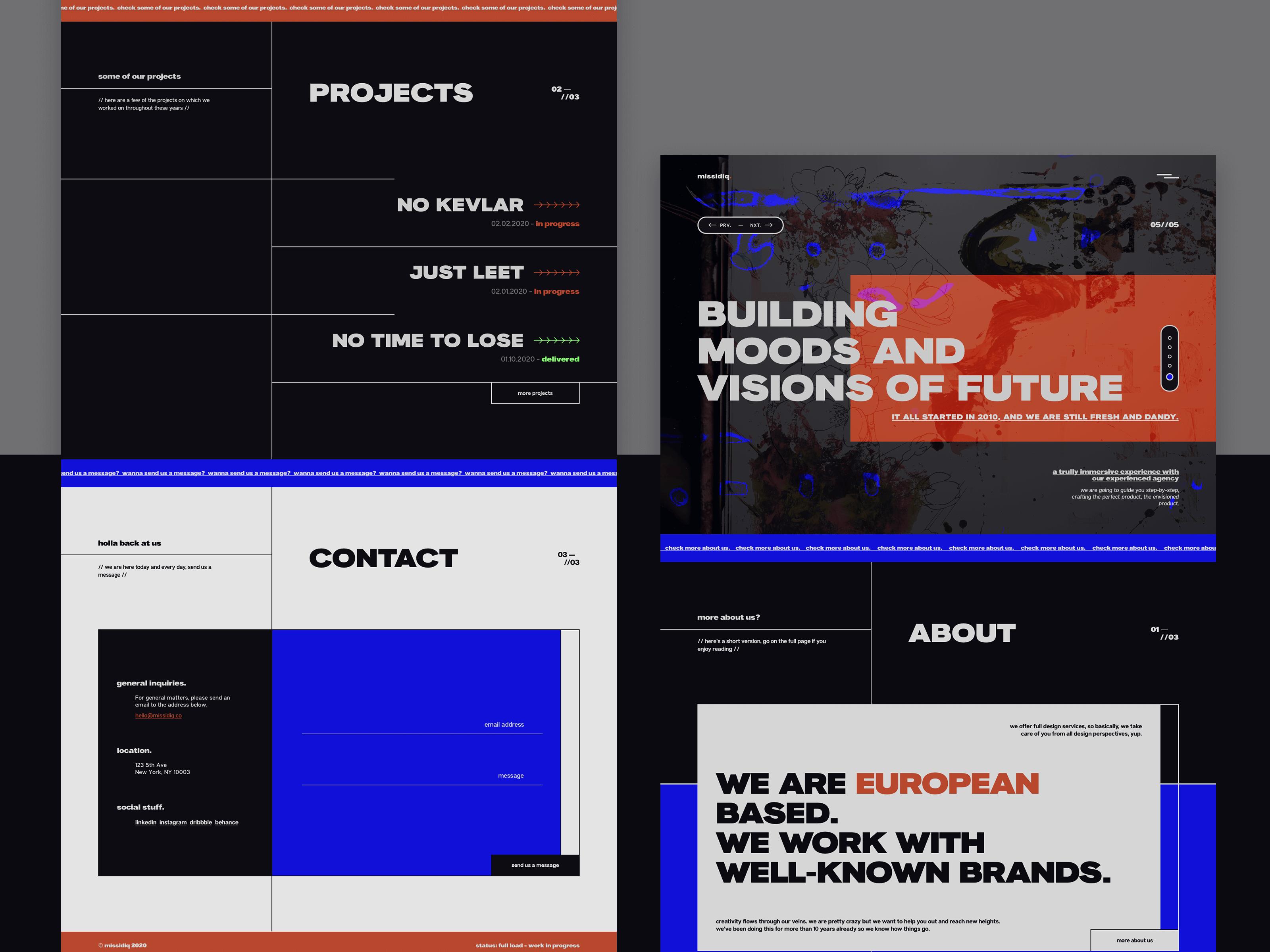 missidiq-Creative-agency-landing-page-design-1